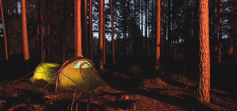 Wildkamperen in Noorwegen tijdens je kajakvakantie - Kajakkopen.com